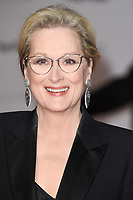 "Meryl Streep<br /> arriving for the European premiere of ""The Post"" at the Odeon Leicester Square, London<br /> <br /> <br /> ©Ash Knotek  D3368  10/01/2018"