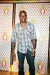 Model Tyson Beckford Attends the Launch of QREAM With A Q Created by Pharrell Williams, held at the New York Public Library, NY 7/20/11