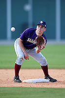 December 28, 2009:  Ryne Cook (6) of the Baseball Factory Tigers team during the Pirate City Baseball Camp & Tournament at Pirate City in Bradenton, FL.  Photo By Mike Janes/Four Seam Images