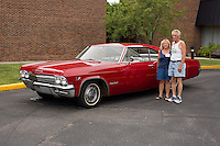 1965 Factory Original Junior (#128) – 1965 Chevrolet Impala Super Sport 2-Door Hardtop registered to Dennis Sherman is pictured during 4th State Representative Chevy Show on Thursday, June 30, 2016, in Fort Wayne, Indiana. (Photo by James Brosher)
