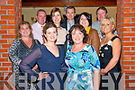 Members of the Barraduff N.S. Parents Association Stuart Kelly, Donal Kelly, Jimmy Daly, Marie O'Sullivan, Muireann  Mullally, Mary O'Sullivan, Clair O'Halloran, Majella Murphy and Bina O'Leary at the 'Sport Stars on Catwalk for School Fashion' fundraising event in Darby O'Gills in Killarney last Saturday night with all funds raised going to Barraduff National School.