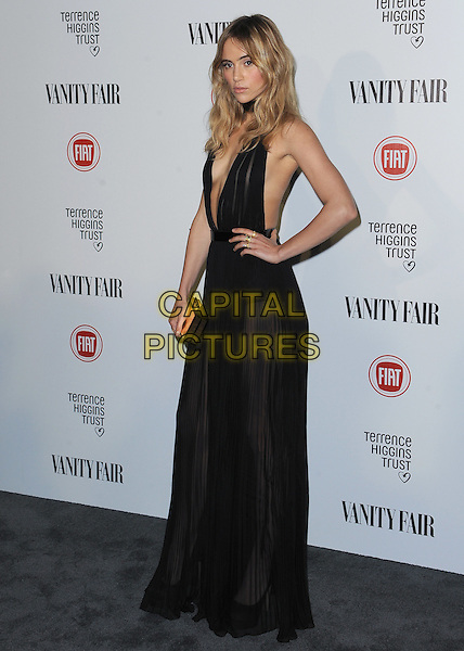 HOLLYWOOD, CA - FEBRUARY 17:  Suki Waterhouse at the Vanity Fair and Fiat &quot;Young Hollywood&quot; event at No Vacancy on February 17, 2015 in Hollywood, California. <br /> CAP/MPI/PGSK<br /> &copy;PGSK/MediaPunch/Capital Pictures