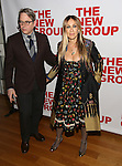 Matthew Broderick and Sarah Jessica Parker attends the opening night party for the New Group Production of Wallace Shawn's  'Evening at the Talk House' at Green Fig Urban Eatery on 2/16/2017 in New York City.