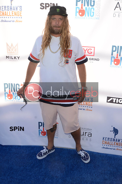 Luke Trembath<br /> at Clayton Kershaw's Ping Pong 4 Purpose Celebrity Tournament to Benefit Kershaw's Challenge, Dodger Stadium, Los Angeles, CA 08-11-16<br /> David Edwards/DailyCeleb.com 818-249-4998