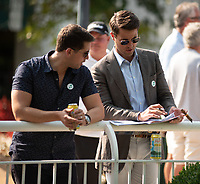 ARLINGTON HEIGHTS, IL - AUGUST 11: Scenes from Arlington Million Day at Arlington Park on August 11, 2018 in Arlington Heights, Illinois. (Photo by Carson Dennis/Eclipse Sportswire/Getty Images)