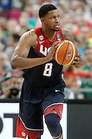 USA's Rudy Gay during 2014 FIBA Basketball World Cup Quarter-Finals match.September 9,2014.(ALTERPHOTOS/Acero)