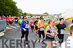The Start of the  inaugural CBS The Green 5k and 3k fun run on Sunday were