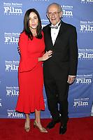 LOS ANGELES - NOV 19:  Jane Walker Wood, Christopher Lloyd at the SBIFF Kirk Douglas Award Honoring Hugh Jackman at the RItz Carlton Bacara on November 19, 2018 in Santa Barbara, CA