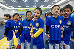 Ball carriers photographed before the match between Jiangsu Sainty (CHN) and Becamex Binh Duong (VIE), part of the AFC Champions League Group E on 20 April 2016 at the Olympic Sports Centre in Nanjing, China. Photo by Lucas Schifres / Power Sport Images