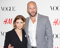 Johnny Wujek, Kate Mara, H&M Vogue Event on September 4, 2014 (photo by Travis W Keyes/Guest Of A Guest