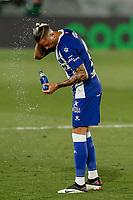 10th July 2020; Estadio Alfredo Di Stefano, Madrid, Spain; La Liga Football, Real Madrid versus Deportivo Alaves; Ljubomir Fejsa (Deportivo Alaves) refreshes during the water break
