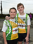 Eilish and Mark Brady who took part in the Noel Carroll 10k race at Annagassan. Photo:Colin Bell/pressphotos.ie