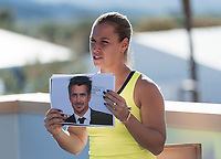 DOMINIKA CIBULKOVA (SVK)<br /> <br /> BNP PARIBAS OPEN, INDIAN WELLS, TENNIS GARDEN, INDIAN WELLS, CALIFORNIA, USA<br /> <br /> &copy; TENNIS PHOTO NETWORK