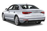 Car pictures of rear three quarter view of 2017 Audi A4 Premium 4 Door Sedan Angular Rear