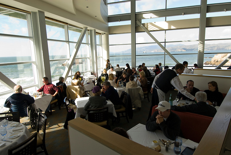 San Francisco: Cliff House Restaurant. Photo 7-casanf75871. Photo copyright Lee Foster.