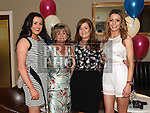 Andre celebrating her 50th birthday in the d hotel with her daughters Alice, Berny and Kellie. Photo:Colin Bell/pressphotos.ie