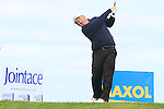 Damien McGrane tees off on the 13th tee during Day 3 of the 100th Irish PGA championship at Seapoint Golf Club, Co Louth...Picture Eoin Clarke/www.golffile.ie.