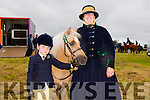 "Riona Moriarty and Cara Moriarty from Fenit with their horse ""Shamrock""  at the KERRY PONY SOCIETY  36th Year Annual Show & Gymkhana At Blennerville, By kind permission of the Hurley Family"
