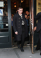 NEW YORK, NY September 10, 2017 Brooklyn Beckham at Balthazar Restaurant  in New York September 10,  2017.<br /> CAP/MPI/RW<br /> &copy;RW/MPI/Capital Pictures