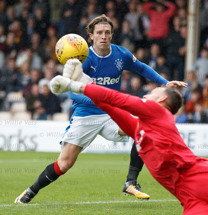 Josh Windass denied by keeper Trevor Carson