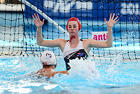 USA v NZL 2. FINA World Waterpolo League, National Aquatic Centre, Auckland, New Zealand, Wednesday 4 April 2018. Photo: Simon Watts/www.bwmedia.co.nz