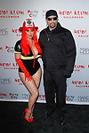 Coco Austin and Ice-T arrive at Heidi Klum's 18th Annual Halloween Party presented by Party City and SVEDKA Vodka at Magic Hour Rooftop Bar & Lounge at Moxy Times Square, on October 31, 2017.