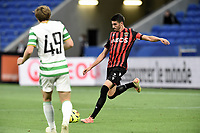16th July 2020; Nice, France; Veolia Trohy Football friendly, OGC Nice versus Celtic FC;  Pierre Lees-Melou nice crosses into the Celtic box
