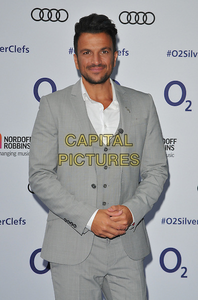 Peter Andre at the Nordoff Robbins O2 Silver Clef Awards 2016, Grosvenor House Hotel, Park Lane, London, England, UK, on Friday 01 July 2016.<br /> CAP/CAN<br /> &copy;CAN/Capital Pictures
