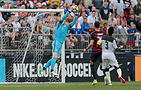 East Hartford, CT - Saturday July 01, 2017: Brad Guzan during an international friendly game between the men's national teams of the United States (USA) and Ghana (GHA) at Pratt & Whitney Stadium.