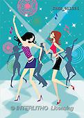Isabella, TEENAGERS, paintings, teenies, disco(ITKE011524,#J#)
