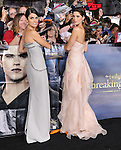 Nikki Reed and Ashley Greene attends The world premiere of Summit Entertainment's THE TWILIGHT SAGA: BREAKING DAWN -PART 2 held at  Nokia Theater at L.A. Live in Los Angeles, California on November 12,2012                                                                               © 2012 DVS / Hollywood Press Agency