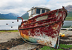 Christened Petros, this is a pictorial of the abandoned ferroboat at Torrin, Isle of Skye, Scotland.