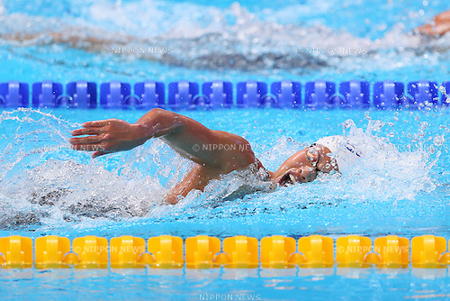 Sakiko Shimizu (JPN), <br /> AUGUST 9, 2015 - Swimming :<br /> 16th FINA World Championships Kazan 2015<br /> Women's 400m Individual Medley<br /> Heat  <br /> at Kazan Arena in Kazan, Russia.<br /> (Photo by Yohei Osada/AFLO SPORT)