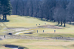 WATERBURY, CT. 12 January 2020-011220BS376 - Golfers enjoy the warm temperatures by playing a round of golf at the Waterbury Country Club on Sunday. Temperatures reaches into the 60's for the second day in a row. Bill Shettle Republican-American