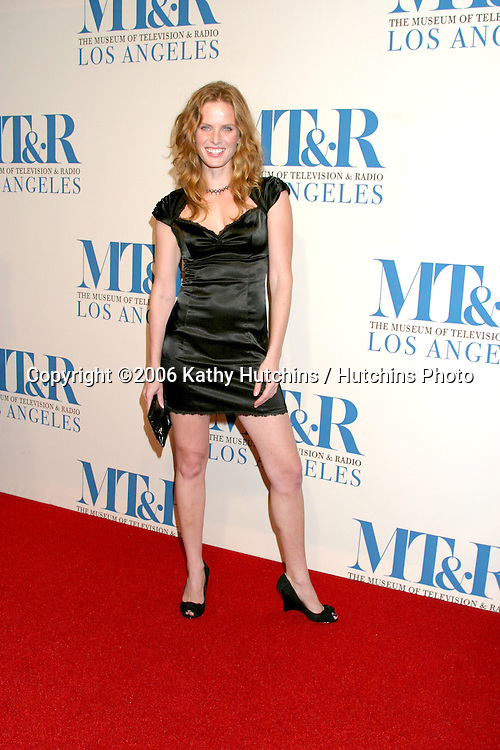 Rebecca Mader.Museum of TV & Radio Annual Gala IHO Les Moonves and Jerry Bruckheimer.Regent Beverly Wilshire Hotel.Beverly Hills, CA.October 30, 2006.©2006 Kathy Hutchins / Hutchins Photo....