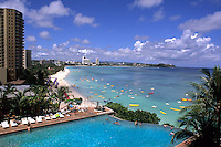 Guam Reef Hotel at beautiful Tumon Bay in Guam US