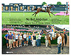 No Bull Addiction winning at Delaware Park on 7/25/15