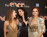 Micaela Diamond, Stephanie J. Block and Teal Wicks Attends the After Party for the Broadway Opening Night  of 'The Cher Show' at Pier 60 on December 3, 2018 in New York City.