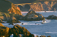 Rocky Creek Bridge from near the<br />