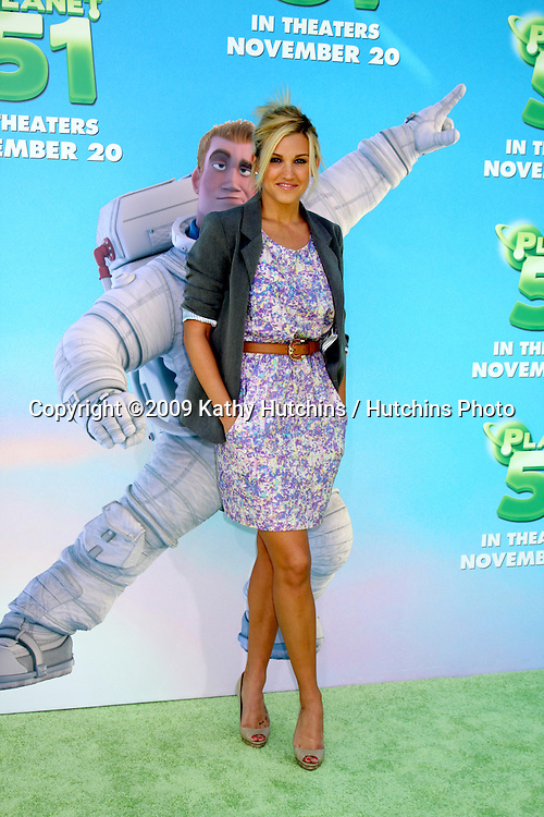 Ashley Roberts.arriving at the Planet 41 Movie Premiere.Mann's Village Theater - Westwood.Los Angeles,  CA.November 14, 2009.©2009 Kathy Hutchins / Hutchins Photo.