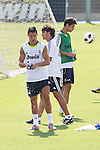 MADRID (11/08/2010).- Real Madrid training session at Valdebebas. Cristiano Ronaldo...Photo: Cesar Cebolla / ALFAQUI