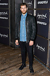 """Alvaro Cervantes attends to the presentation of the Springfiled Fashion Film of Christmas """"Keep in Touch"""" at Luchana Theater in Madrid, November 17, 2015.<br /> (ALTERPHOTOS/BorjaB.Hojas)"""