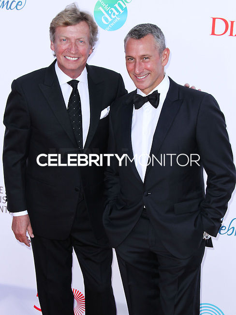 LOS ANGELES, CA, USA - JULY 19: Nigel Lythgoe, Adam Shankman at the 4th Annual Celebration Of Dance Gala Presented By The Dizzy Feet Foundation held at the Dorothy Chandler Pavilion at The Music Center on July 19, 2014 in Los Angeles, California, United States. (Photo by Xavier Collin/Celebrity Monitor)