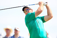Ryan Fox (NZL) on the 3rd tee during the 1st round of the 2017 Portugal Masters, Dom Pedro Victoria Golf Course, Vilamoura, Portugal. 21/09/2017<br /> Picture: Fran Caffrey / Golffile<br /> <br /> All photo usage must carry mandatory copyright credit (&copy; Golffile | Fran Caffrey)