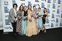 08 February 2020 - Santa Monica - Olivia Wilde, Kaitlyn Dever, Beanie Feldstein, Billie Lourd. 2020 Film Independent Spirit Awards - Press Room held at Santa Monica Pier. Photo Credit: Birdie Thompson/AdMedia