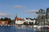 Hafen von Neustadt, Schleswig-Holstein, Deutschland