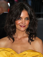 "NEW YORK CITY, NY, USA - MAY 05: Katie Holmes at the ""Charles James: Beyond Fashion"" Costume Institute Gala held at the Metropolitan Museum of Art on May 5, 2014 in New York City, New York, United States. (Photo by Xavier Collin/Celebrity Monitor)"