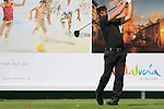 Fredrik Ohlsson (SWE) in action on the 16th tee during Day 1 Thursday of the Open de Andalucia de Golf at Parador Golf Club Malaga 24th March 2011. (Photo Eoin Clarke/Golffile 2011)