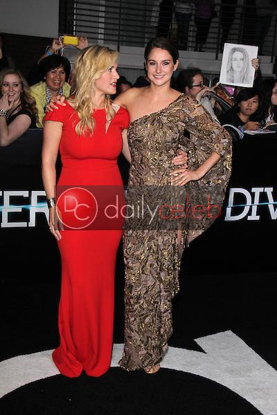 "Kate Winslet, Shailene Woodley<br /> at the ""Divergent"" Los Angeles Premiere, Regency Bruin Theatre, Westwood, CA 03-18-14<br /> Dave Edwards/DailyCeleb.com 818-249-4998"
