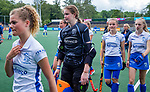 AMSTELVEEN -   teleurstelling Kampong.  Babette Backers.  finale Kampong MB1-Amsterdam MB1. AMSTERDAM MB1 wint de titel Meisjes B. finales A en B jeugd  Nederlands Kampioenschap.  COPYRIGHT KOEN SUYK